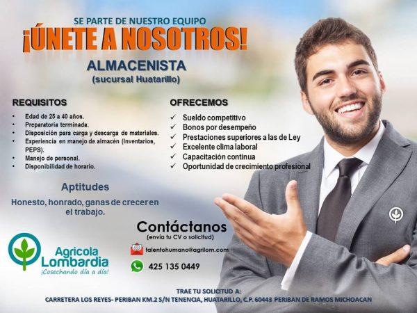 Almacenista Huatarillo